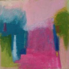 """Perpetual Paradise"" Original Art by Leslie Milsten - Mecox Gardens #EastHampton #interiordesign #home #decor #design #painting #MecoxGardens #Hamptons"