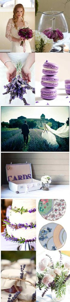Gorgeous lavender fields, a touch of luxury, pastels and love all over. Giving me the inspiration to make our wedding as beautiful as this one.