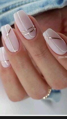 Chic Nails, Classy Nails, Stylish Nails, Simple Nails, Trendy Nails, Elegant Nails, Work Nails, Ombre Nail Designs, Nail Art Designs