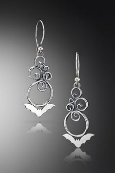 If you like bats–and it may not be a push to think many of this blogs followers do–then you will want to check out jeweler Julia Lowther's work. Browse her website and gain some insight behind her love of bats. I'm glad I did.