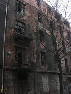 Abandoned Building in Jewish Ghetto