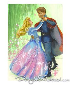 poster for sleeping beauty castle - Google Search