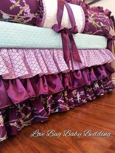 Custom Baby Bedding  Kirby by LoveBugBabyBedding on Etsy, $595.00