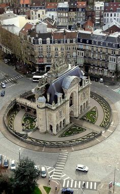 Climb the Belfry Tower, Lille, France.