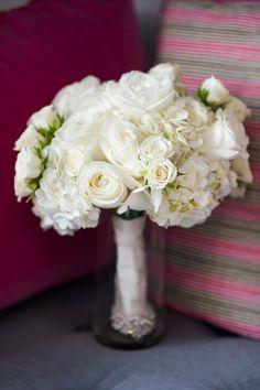 Modern White Wedding Texas White Bouquet http://www.coryryan.com/