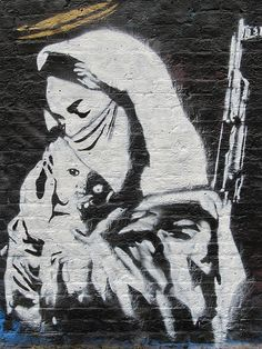 "Artist :Ben Naz... street art ""in London"""