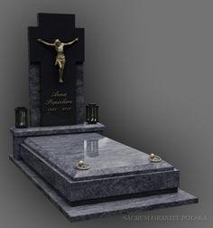 nagrobek 527 Tombstone Designs, Marble Board, Cemetery Headstones, Floor Design, Funeral, Granite, Diy, Projects, Crafts