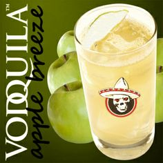 Yum yum! This Vodquila Apple Breeze will not disappoint!