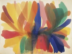 Morris Lewis, Point of Tranquility, 1959-60, Acrylic resin (Magna) on canvas