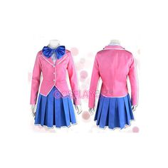 Yu-Gi-Oh Anzu Mazaki cosplay Costume ver 01 ($84) ❤ liked on Polyvore featuring costumes, cosplay, pink halloween costumes, pink costume, role play costumes, cosplay halloween costumes and cosplay costumes