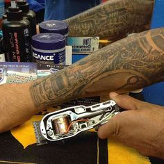 1000 images about barbershop tatoos on pinterest barber for Wahl tattoo clippers