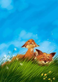 Лиса,лис, лисы, лиска,красивые картинки,иллюстрация
