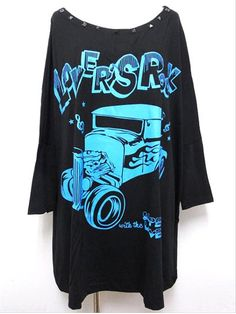 Hot Rod BIG T-Shirt available at http://www.cdjapan.co.jp/apparel/new_arrival.html?brand=SLV