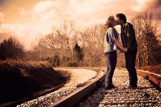 Rustic North Carolina Engagement Pictures