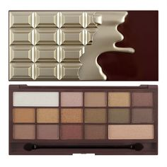 Our finest chocolate palette holds a selection of eyeshadow for every makeup and chocolate lovers dream from light to dark presented in a classic gold chocolate bar. Will you give the gift of chocolate or indulge yourself?. | eBay!