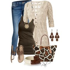 Go wild!, created by pamlcs on Polyvore