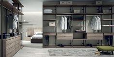 Los vestidores abiertos son la mejor opción si tienes espacio y estilo