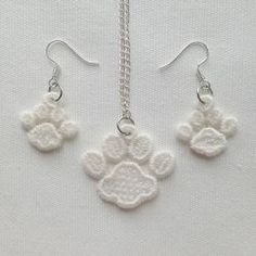 FSL Earrings And Pendant 4 machine embroidery designs