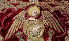 Magnificent … a detail from the Butler-Bowdon Cope (1330-50).