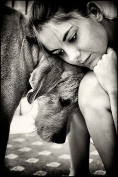 The greatest love is the loyalty and love from a dog! Treat them well and they will love you for their whole lives!