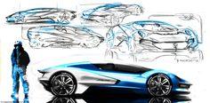 Student mini portfolios strategy in car design