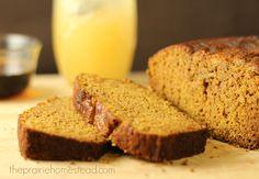 Honey Maple Pumpkin Bread Recipe | The Prairie Homestead