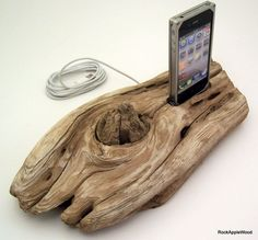 Beach Driftwood iPhone Dock