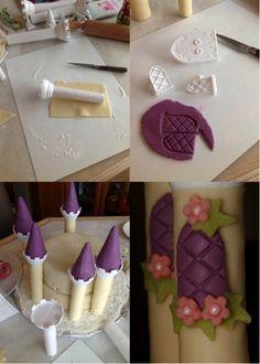 Le gâteau d'anniversaire château de la belle au bois dormant – tutoriel #3 le montage et la touche finale | Les délices d'Anais