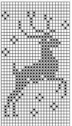 filet crochet Chart for christmas jumper 2013 Xmas Cross Stitch, Cross Stitch Charts, Cross Stitch Designs, Cross Stitching, Cross Stitch Embroidery, Embroidery Patterns, Christmas Cross Stitch Patterns, Hand Embroidery, Christmas Charts