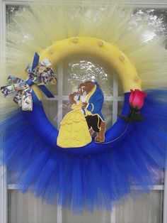 Beauty and the Beast Wreath