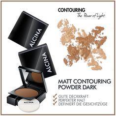 Must-have für Puder-Contouring: Das Matt Contouring Powder dark ist der professionelle Puder, der die jeweilige Gesichtspartie optisch zurücktreten lässt und dort, wo er aufgetragen wird, neu definiert.