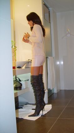 Sexy Boots for women and men from Sexy Shooz UK. Ankle Boots, Knee Boots, Thigh High Boots plus Crotch and Chap Boots Thigh High Boots, High Heel Boots, Over The Knee Boots, High Heels, Sexy Boots, Belle Photo, Crossdressers, Fashion Boots, Women's Fashion