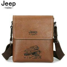 85a96525b4 2017 New Fashion Man Bag High Quality Leather Men Messenger Bags Black  famous brand Totes Male Shoulder Crossbody Bag 8089