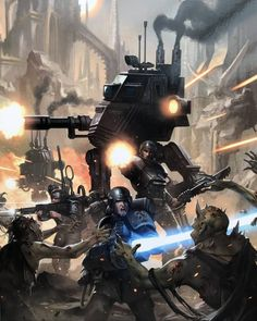 The Astra Militarum. Warhammer 40k Memes, Warhammer Art, Warhammer 40k Miniatures, Warhammer Fantasy, Warhammer 40000, Warhammer Imperial Guard, 40k Imperial Guard, Dc Comics, Far Future