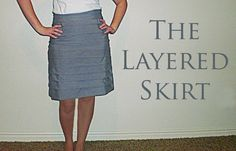 Shwin: The Layered Skirt