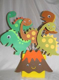 Centros de mesa dinosaurios - Dale Detalles