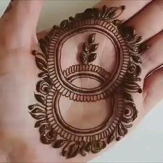 Latest Beautiful Hand Mehndi Designs 2019 - Step by Step Guide [Video] [Video] Basic Mehndi Designs, Modern Henna Designs, Latest Henna Designs, Finger Henna Designs, Henna Art Designs, Mehndi Designs For Girls, Mehndi Designs For Beginners, Mehndi Design Pictures, Mehndi Designs For Fingers