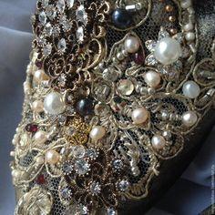 """Купить Балетки""""Sparkling Night""""в стиле DG - красивая обувь, модная обувь, в стиле дольче габбана"""