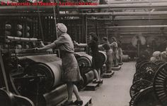 Jute workers, possibly at Rockwell Works, Dundee, 1946