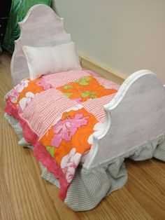 Liddy B. and me: DIY American Girl Doll Bed