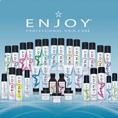 Enjoy sulfate-free shampoo & hair products