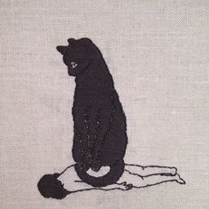 Seriously Ruined: adipocere embroidery