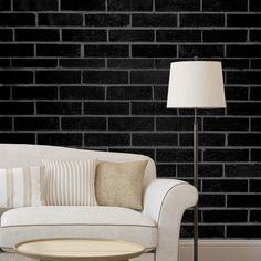 Papel de parede adesivo tijolo - StickDecor | Decoração Criativa