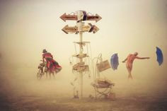Victor Abchy. Burning Man Festival 2014: images d'un autre monde