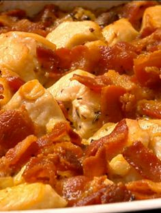 For Dinner Tonight: Crowd Favorite Quick and Easy Chicken and Rice Casserole I Love Food, Good Food, Yummy Food, Tasty, Yummy Yummy, Easy Chicken And Rice, Chicken Rice, Chicken Bacon, Creamy Chicken