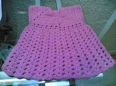 كيفية عمل فستان كروشية بالصور - طريقة صنع فستان كروشية للبنات بالصور 42095hayah.jpg