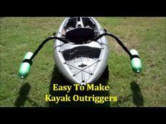 EASY Homemade Kayak Outriggers - Pontoons - Stabilizers ~DIY