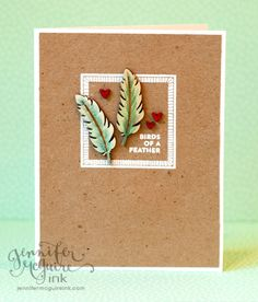 card by #JenniferMcGuire using #FreckledFawn #OhDeer embellishment kit