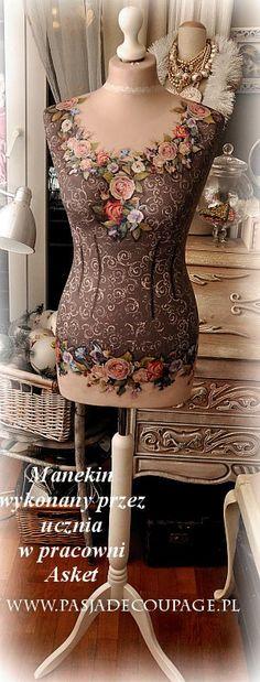stylowe wnętrza manekin LOVE THIS!!