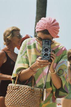 52+Vintage+Pictures+of+Our+Favorite+Icons+Enjoying+Summer - ELLE.com